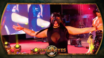 La Hiedra luchadora de AAA en Rey de Reyes