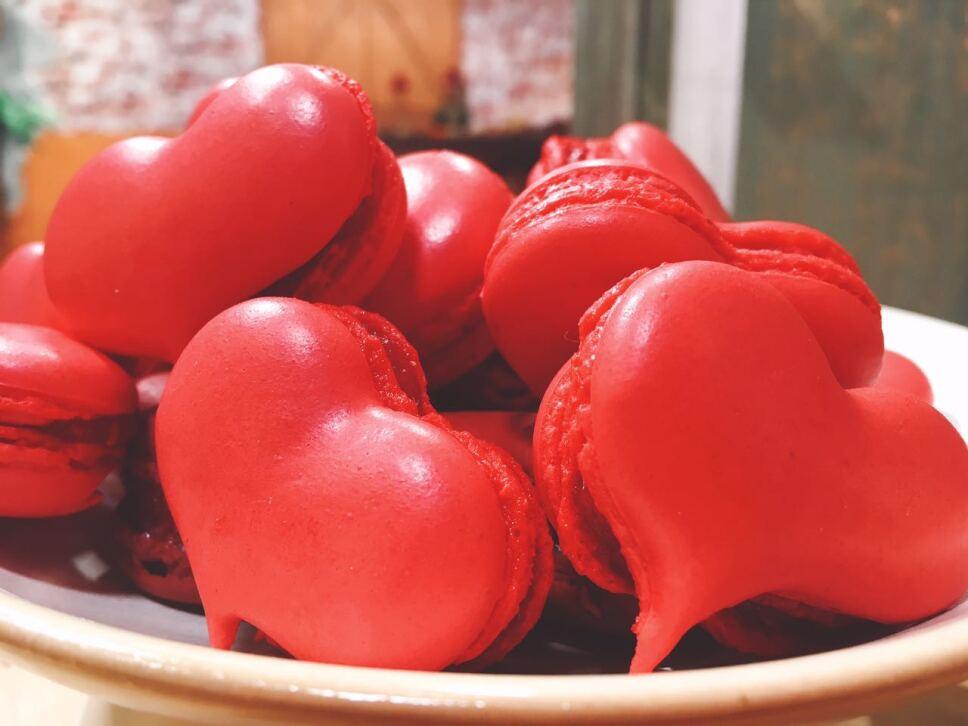 Macarrones de corazón, cocineros mexicanos