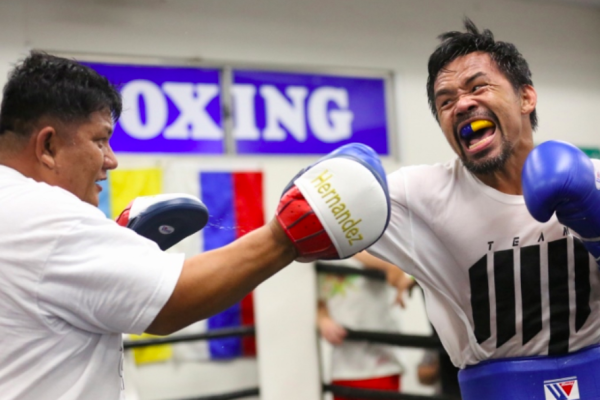 Manny Pacquiao vs Yordenis Ugas Box Azteca