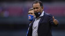 Juan Reynoso, entrenador Cruz Azul