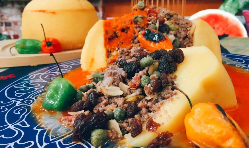 Receta Queso relleno Cocineros Mexicanos
