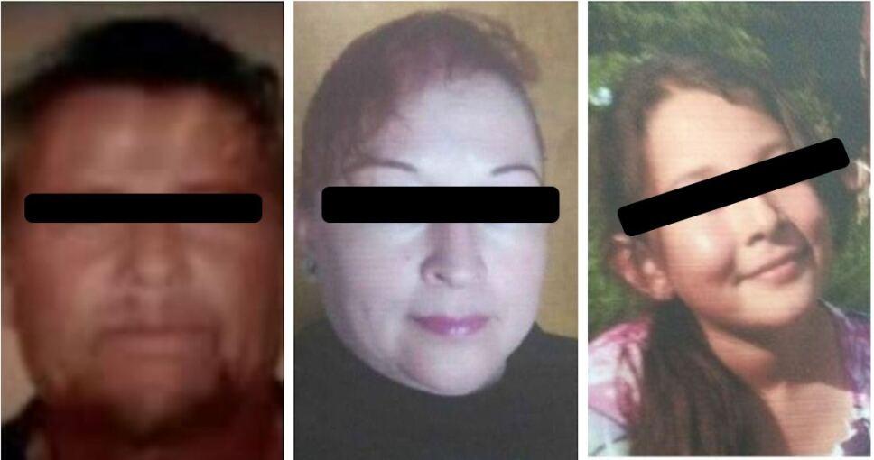 Madre, hija y abuelo, integrantes de una misma familia, fueron localizados enterrados en una habitación de su vivienda en Ecatepec.