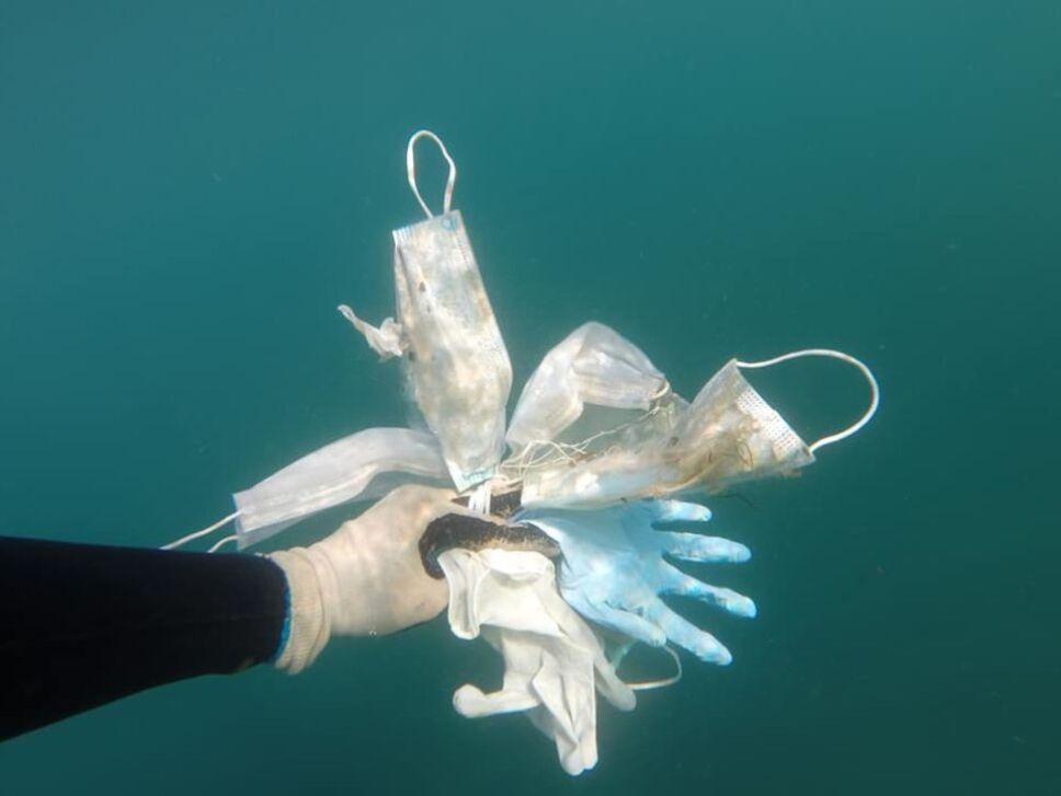 Los desechos de plástico que llegan al mar han generado microplástico