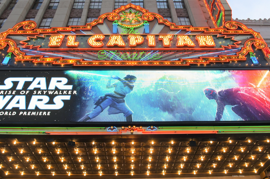 Star Wars Ascenso de Skywalker premier películas