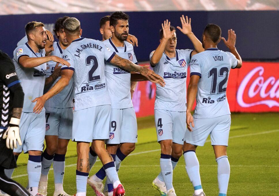 Herrera colaboró con una asistencia en goleada al Osasuna