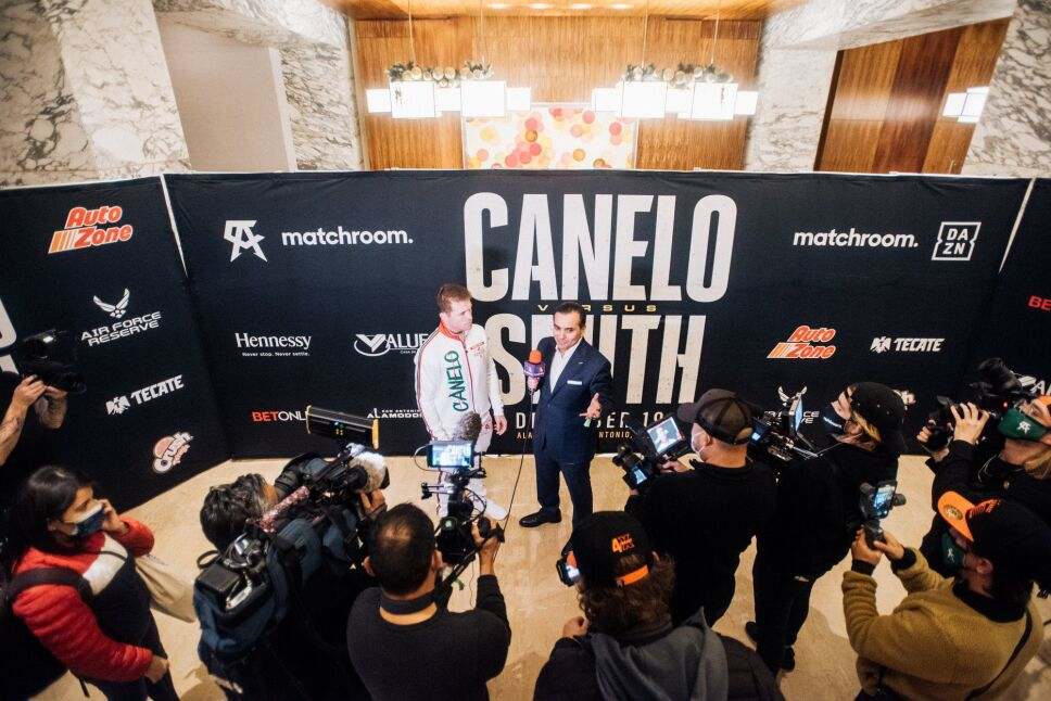 """Saúl """"Canelo"""" Álvarez vs Callum Smith pelea"""