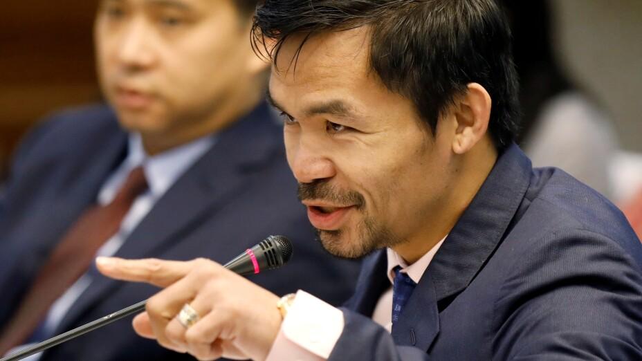 Manny Pacquiao se retira del boxeo para buscar la presidencia de Filipinas