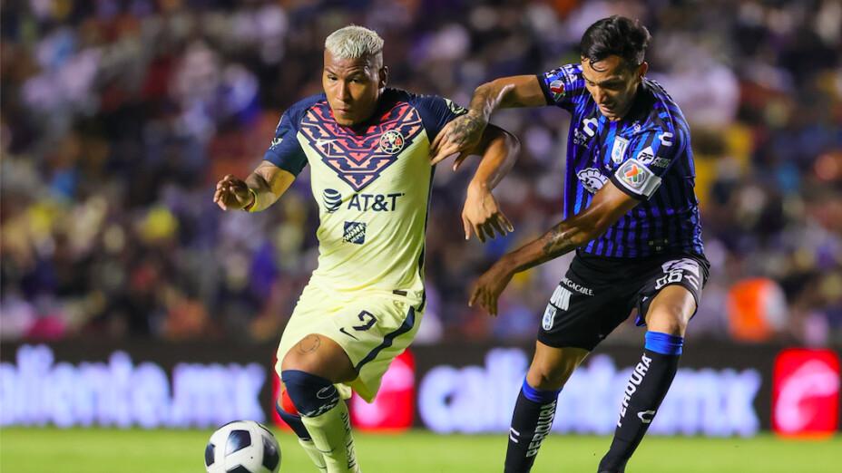 Gallos de Querétaro y las Águilas del América igualaron sin goles en el arranque del torneo Grita México torneo Apertura 2021 de la Liga BBVA MX.