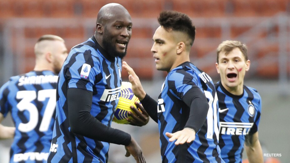 Con doblete de Romelu Lukaku, Inter derrota a Torino