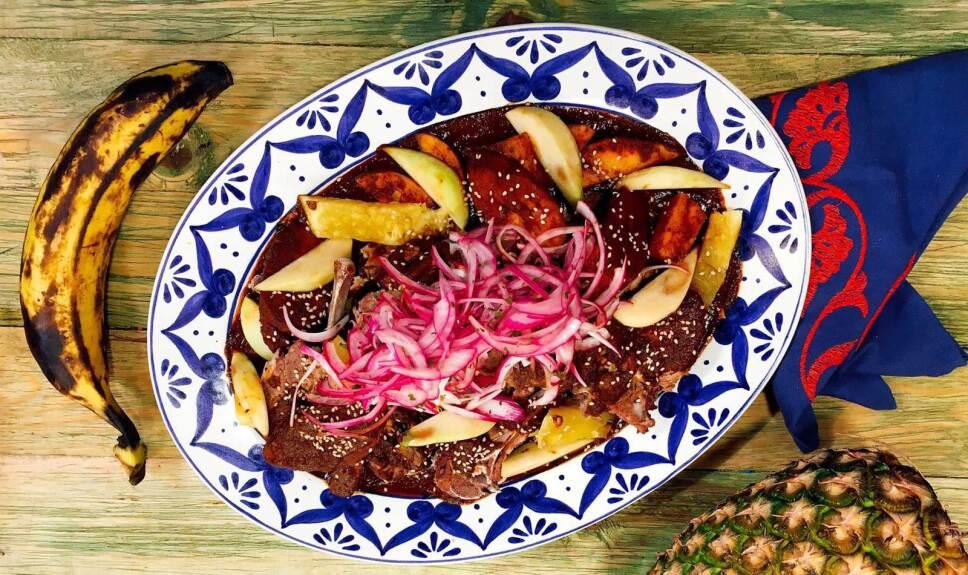 Receta Manchamanteles Cocineros Mexicanos