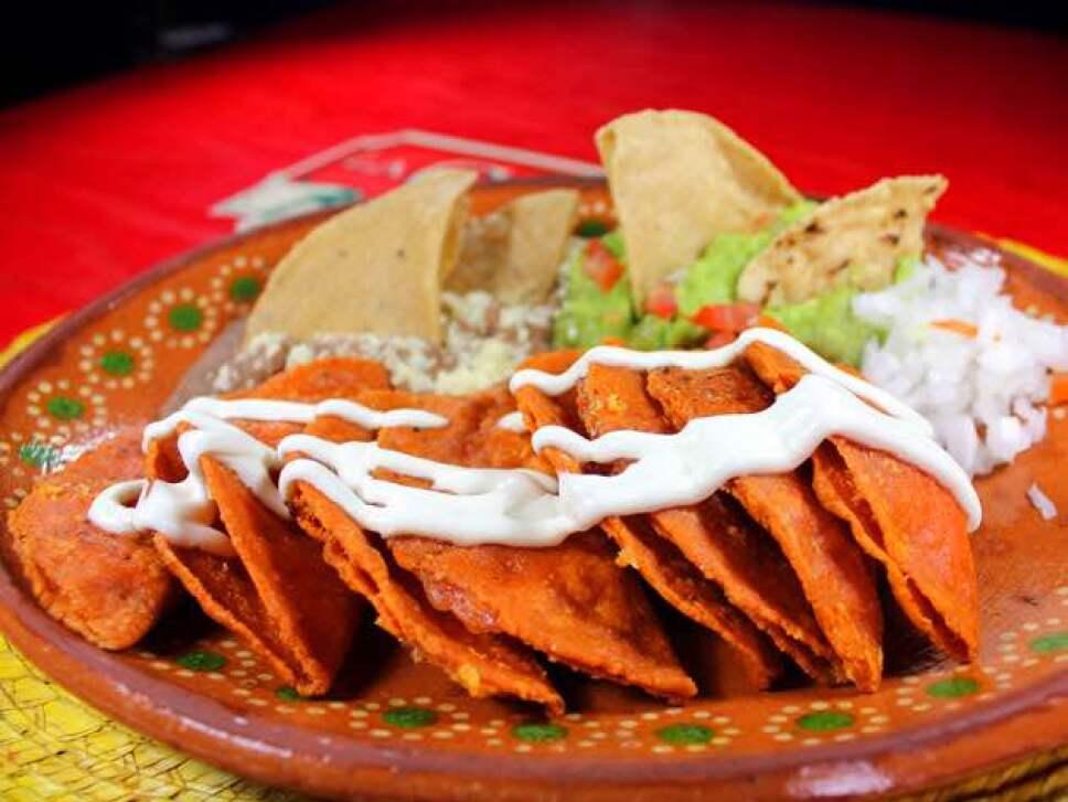 Enchiladas potosinas, cocineros mexicanos