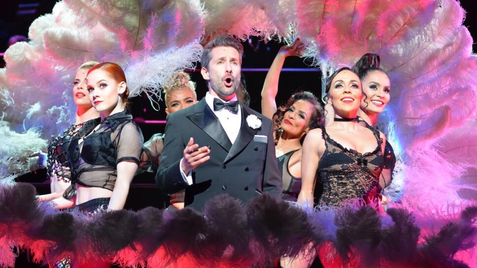 """Marco Zunino en """"Chicago, el musical"""""""