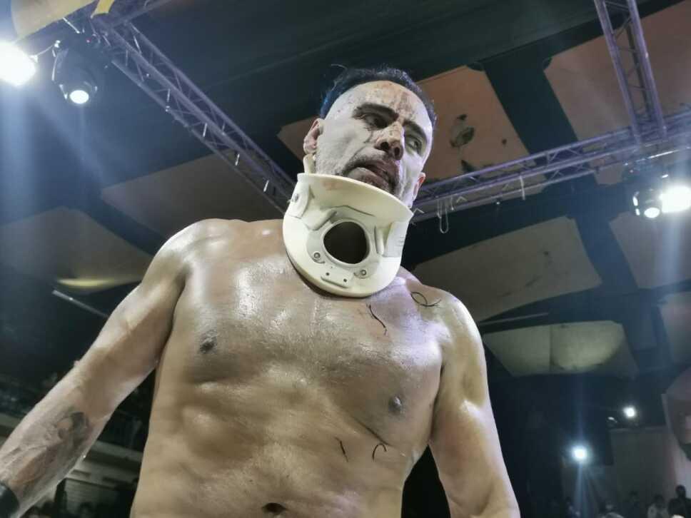 Dr. Wagner Jr. luchador