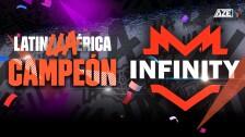 Infinity Campeón de la LLA 2021