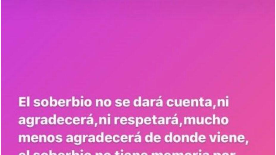 La esposa del 'Cata' Domínguez calificó de mal agradecido a Javier Aquino tras la bronca de la semifinal.