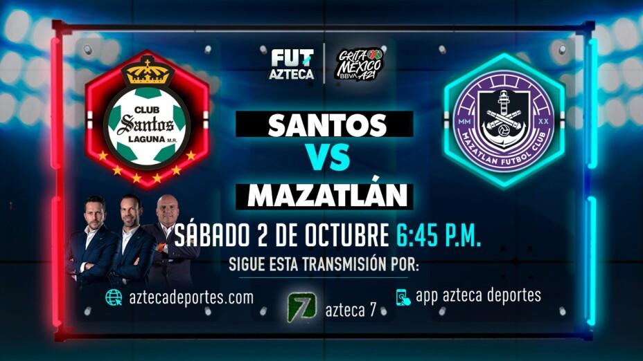 Santos vs Mazatlán FC