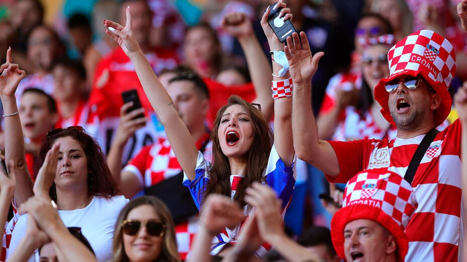 Aficionados de Croacia