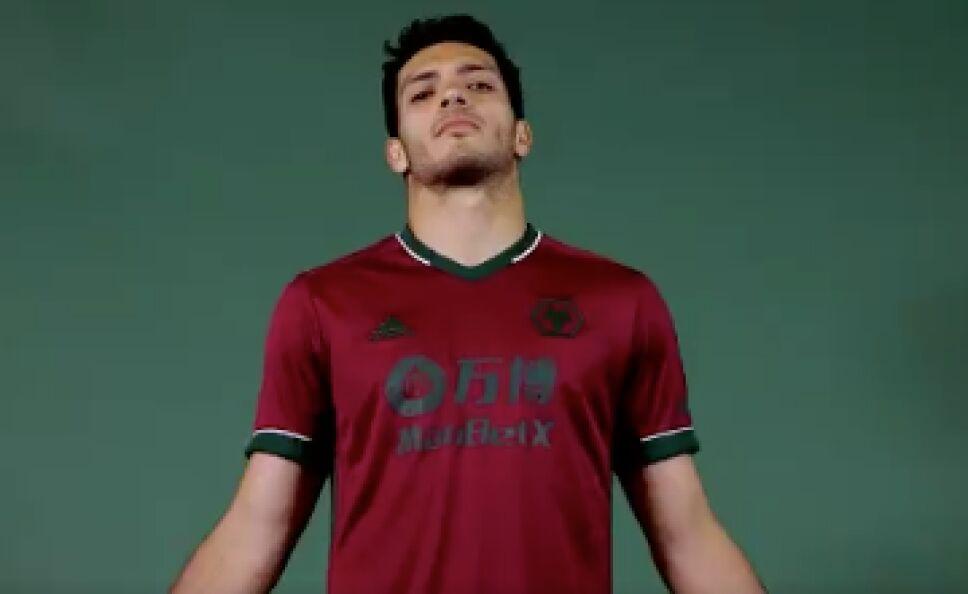 Raúl Jiménez Wolverhampton nueva playera
