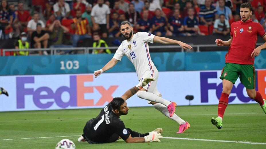 Gol Karim Benzema