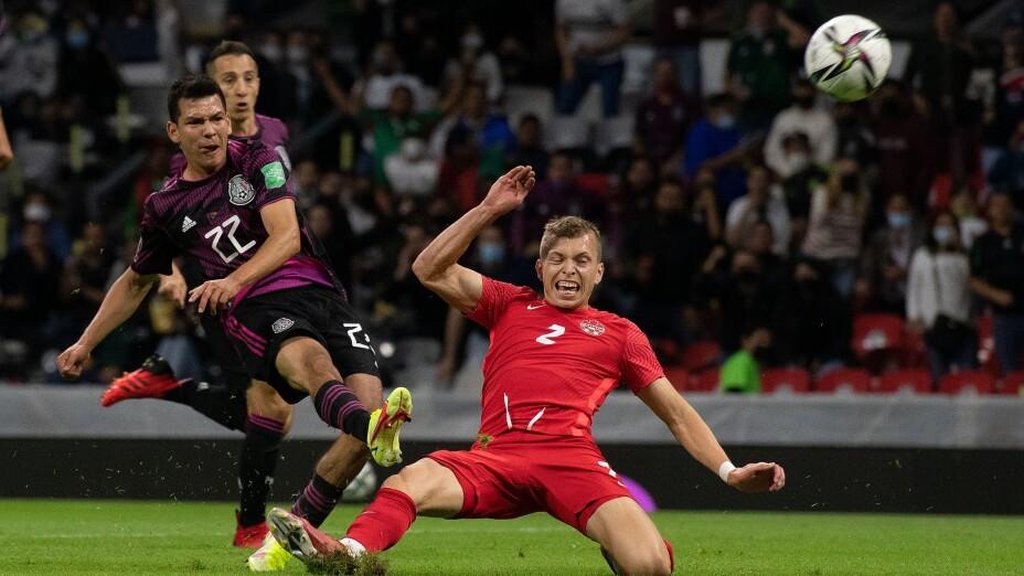 México 1-1 Canadá