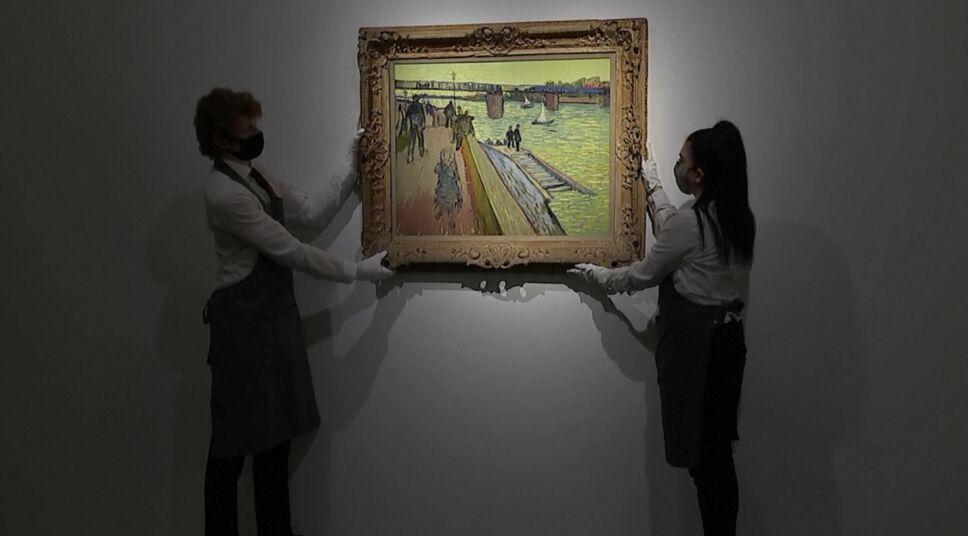 Pablo Picasso, Piet Mondrian y Vincent Van Gogh 3