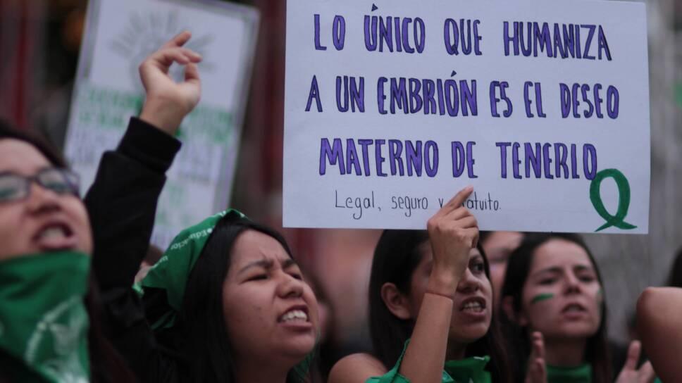 Pañuelos verdes Pro aborto