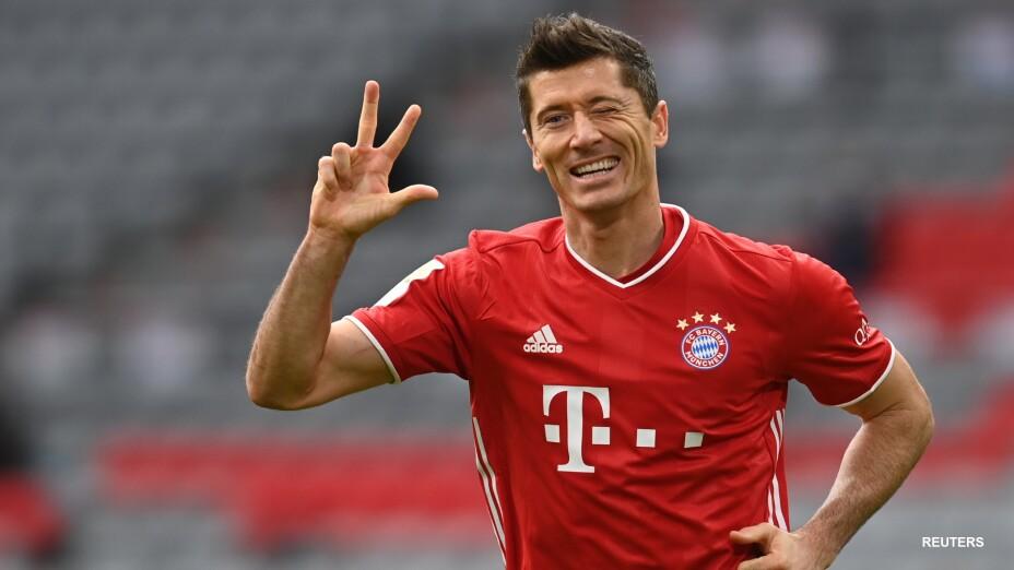 Lewandowski anota hat-trick con el Bayern Munich