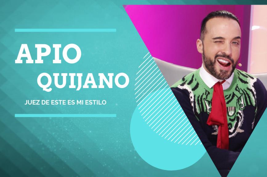 Él es Apio Quijano, ¡nuevo juez en esta segunda temporada de Este Es Mi Estilo!