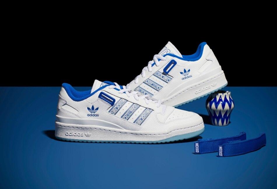 Además, están hechos con materiales reciclados, que le dan una estrellita extra a estos tenis.
