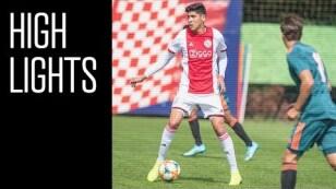 Highlights Ajax - Ajax   Oefenduel