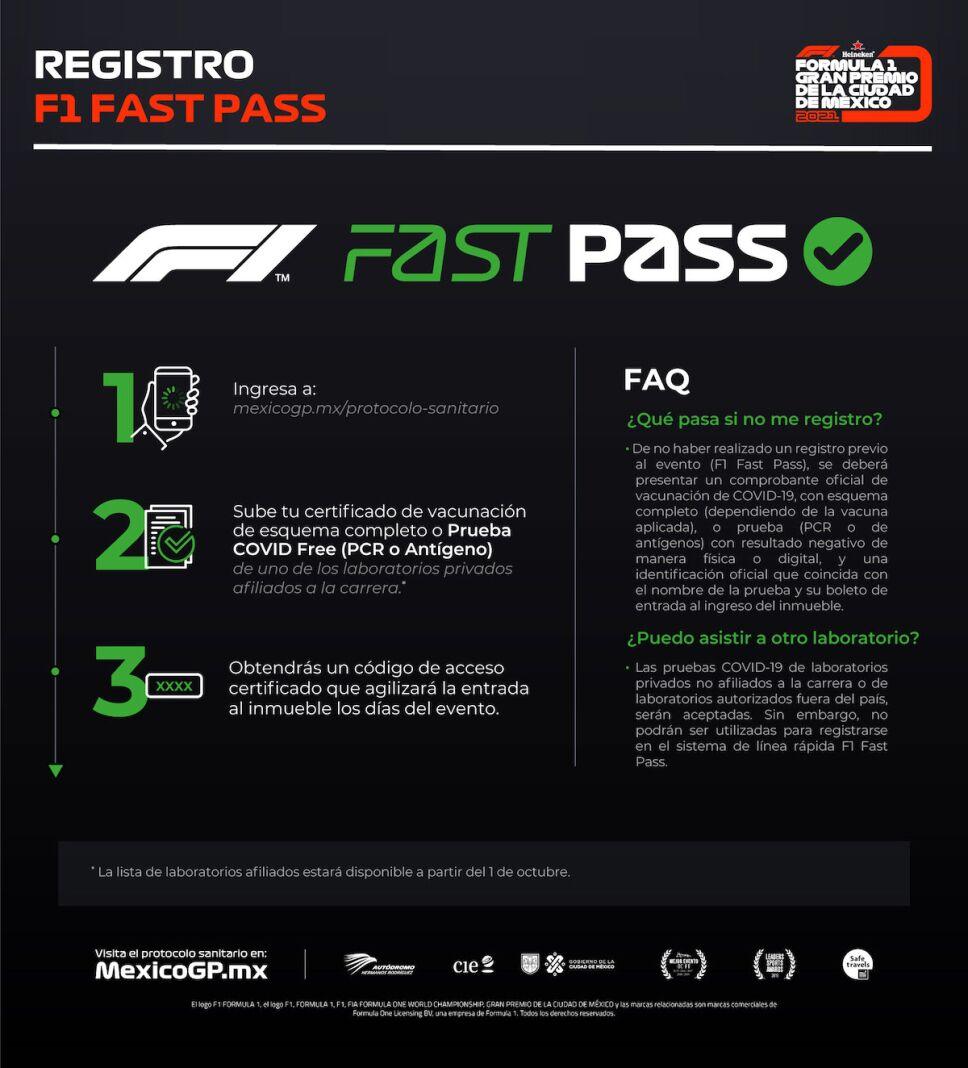 f1 fast pass entra mas rapido a la formula 1