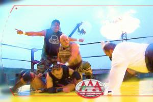 Lucha Azteca AAA luchadores
