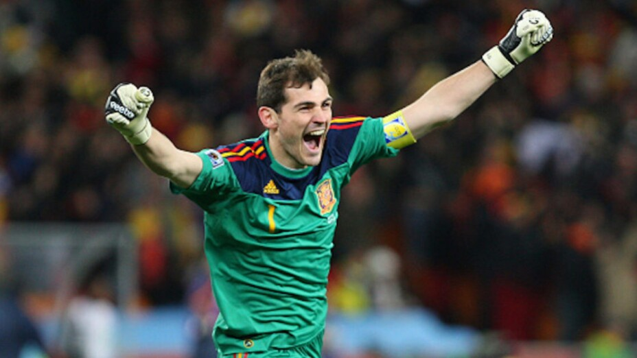 Iker Casillas en el Mundial Sudáfrica 2010