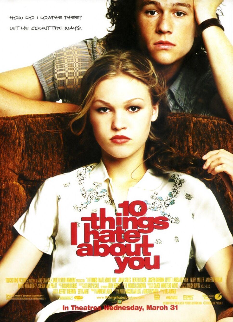 spinoff, 10 cosas que odio de ti