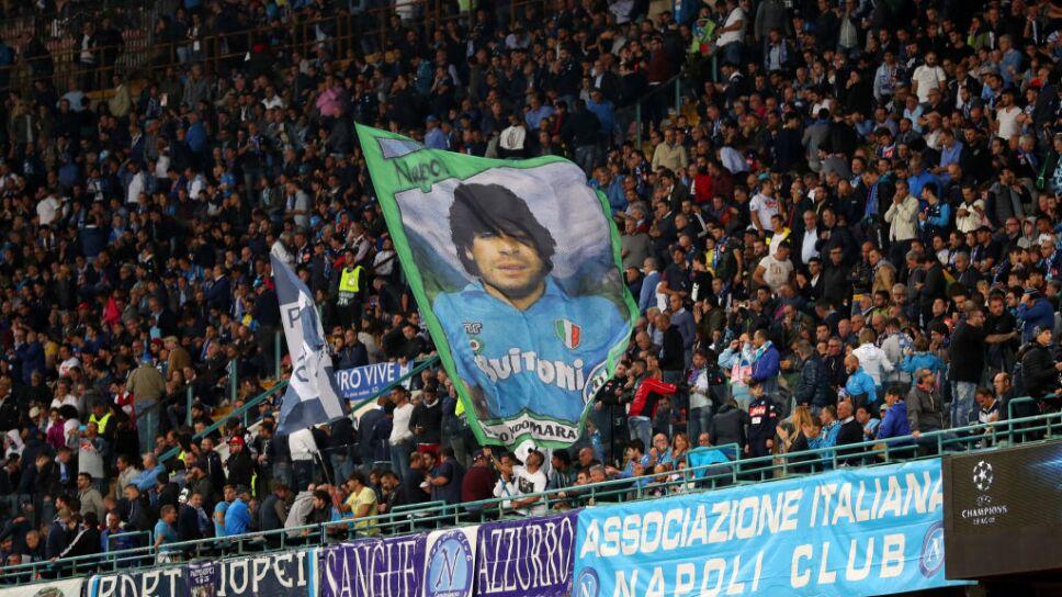 Maradona, el Dios del San Paolo