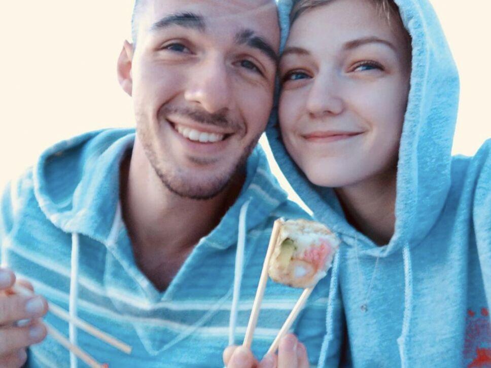 Gabby Petito y Brian Laundrie