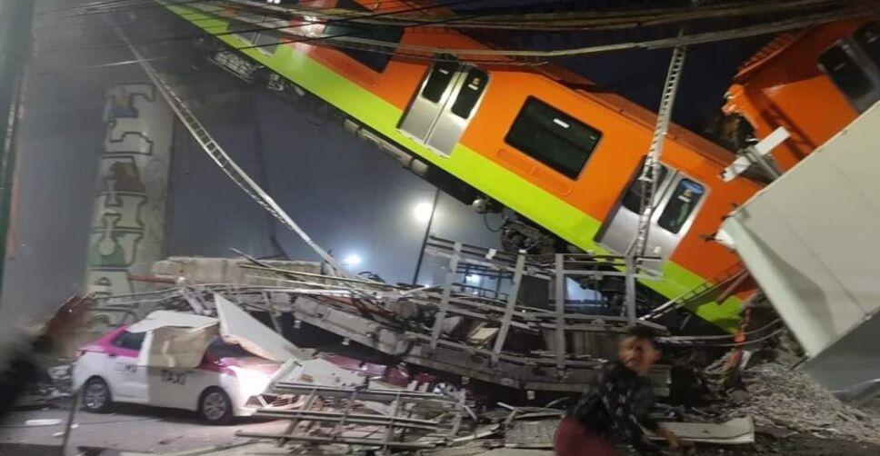 accidente linea 12 del metro