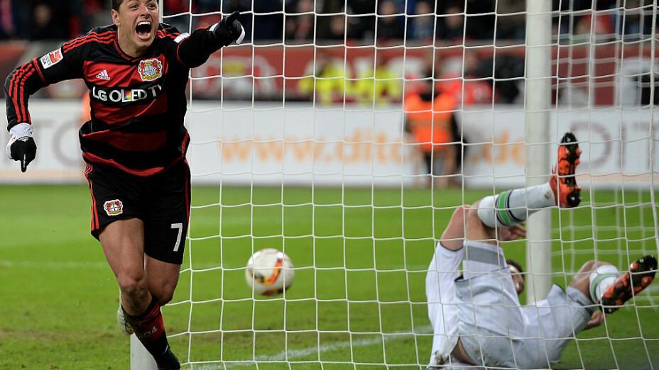 Javier Hernández pudo ser leyenda en el Leverkusen