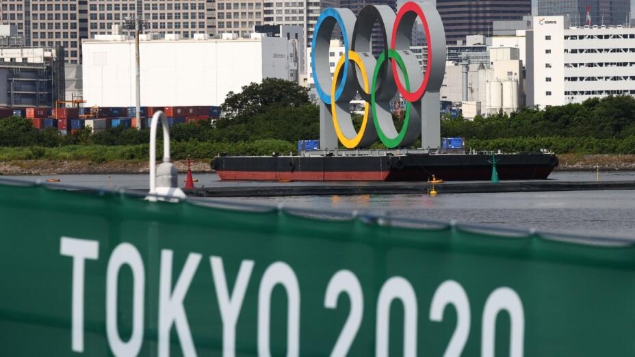 Aros Olímpicos en Tokyo, Japón