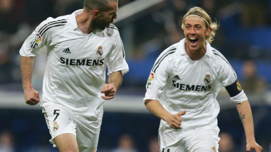 Guti entrenador Real Madrid