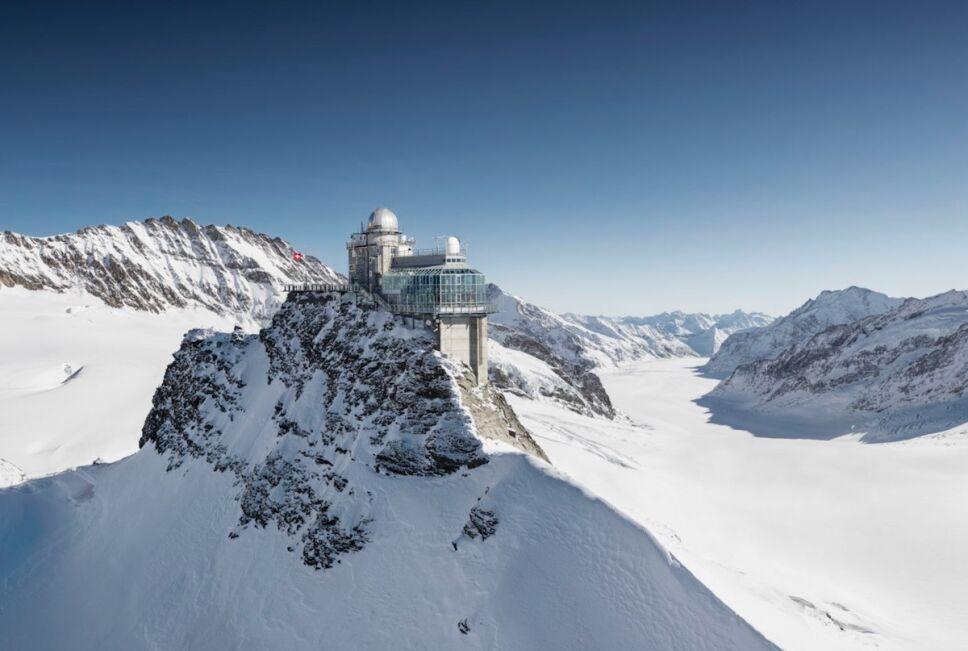 montanas de suiza jungfraujoch