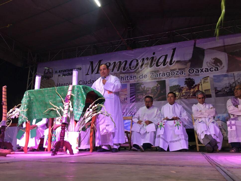 Conmemoran zapotecas primer aniversario