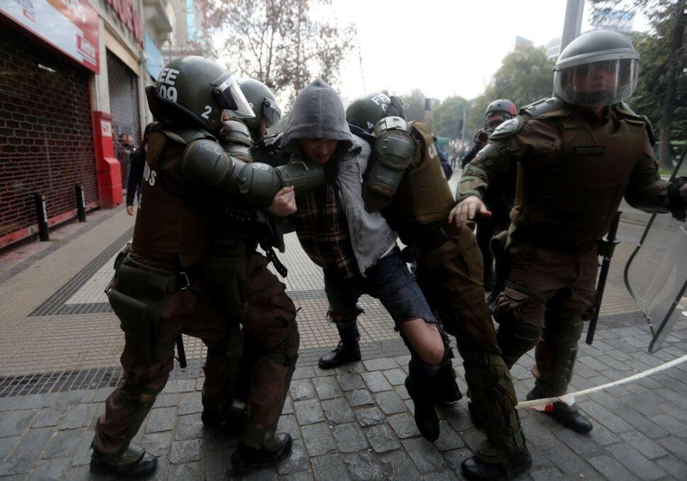 protestas chile jóvenes