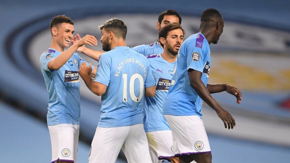 ¡El Manchester City aplastó al Arsenal en el regreso de la Premier League!