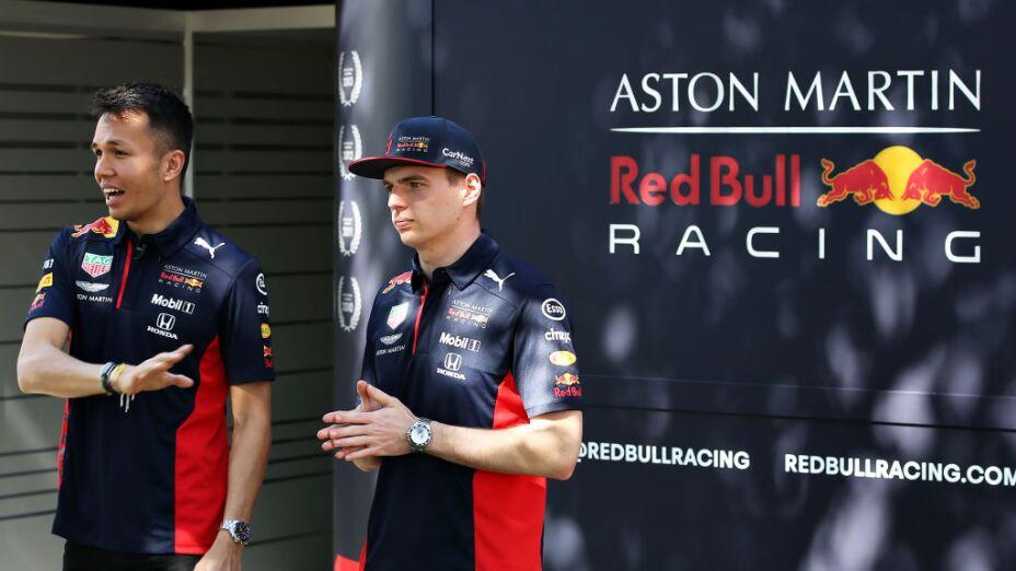 Red Bull contempla la dupla Verstappen-Albon más allá de 2020