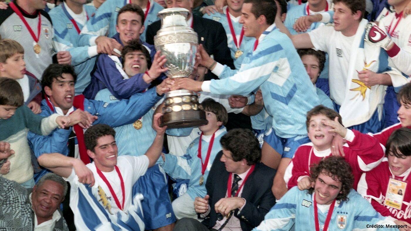 20 campeones ganadores Copa América 1995 2019.jpg