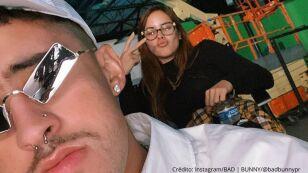 Bad Bunny y su novia Gabriela Berlingeri