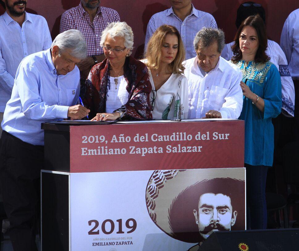 Presidente AMLO promete apoyar siempre al pueblo mexicano