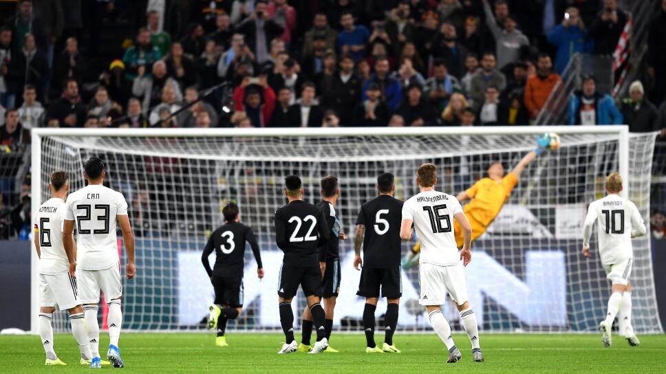 Argentina vs Alemania