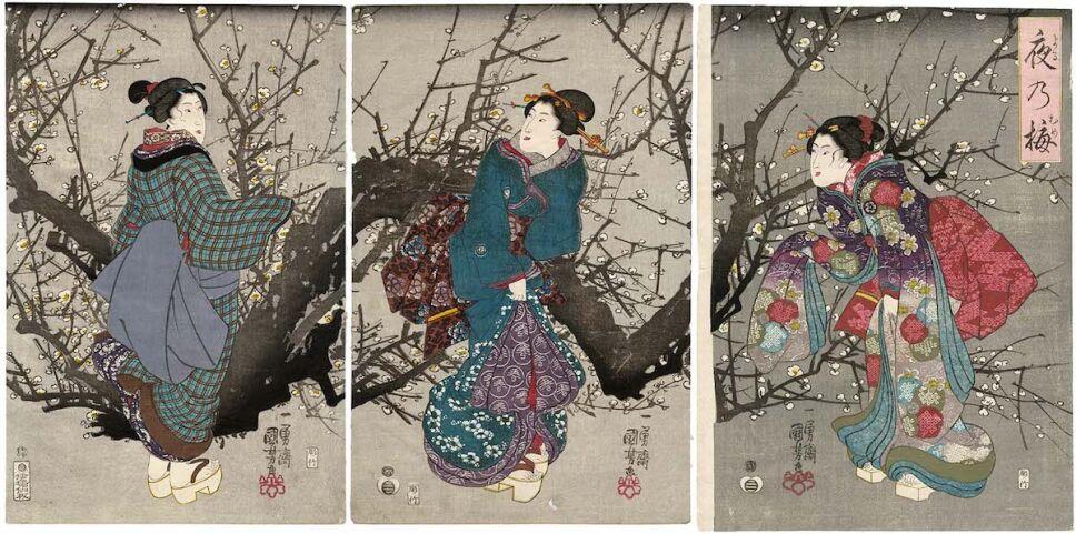 emoji-de-kimono-significado-Plum-Blossoms-at-Night-Yoru-no-ume.jpg